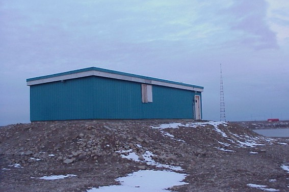 Photo de l'observatoire magnétique Cambridge Bay