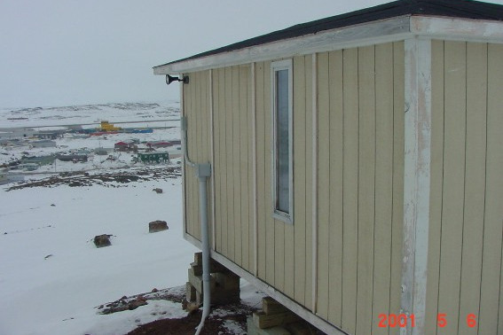 Iqaluit magnetic observatory photo